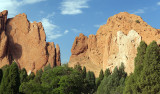 Late Afternoon Light At Garden Of The Gods
