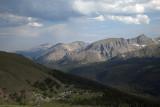 Looking Back To Longs Peak: Late Afternoon-RMNP
