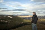 My Son Paul Viewing RMNP From A Trail Ridge Road Overlook