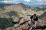 Resting On Mount Evans -Photo By My Son, Paul