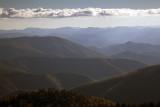 Late Afternoon Light Viewed From Cowee Mountain Overlook