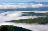 Low Clouds And Ground Fog