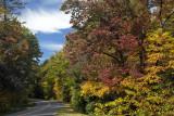 Blue Ridge Parkway In Southwest Virginia