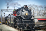 An April 2014 Visit to Radford, Virginia By Norfolk And Southern Steam Engine #630