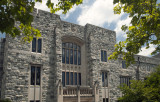 War Memorial View Of Newman Library