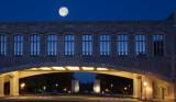 June 2014 Full Moon Over Torgersen Hall