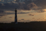 Sunset Reflecting Off The Hatteras Lighthouse