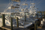 Morning Light On Charter Boats