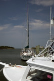 A View In Ocracoke Harbor