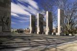 War Memorial -A Winter View