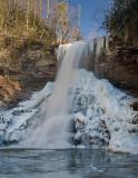 Cascades Falls- Winter