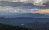 A Stormy Morning Over The Blue Ridge Mountains