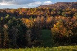 Autumn View From The Blue Ridge Parkway In Virginia