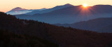 Sunrise At Waterrock Knob