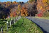 An Autumn Morning On The Blue Ridge Parkway