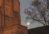 Sunrise And Full Moon On Burress