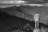 My Son Paul Admiring The View-North Carolina