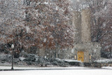 A Thanksgiving Snow View Of The VT Chapel