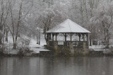 The Gazebo In Snow