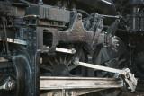 Close Up Detail Of The Old 1218 Locomotive-Roanoke Transportation Museum, Virginia