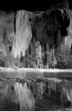 El Capitan And The Merced River-Yosemite National Park, California