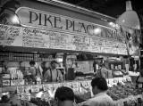 World Famous Pikes Place Fish Market In Seattle, Washington
