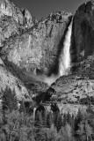 Upper And Lower Yosemite Falls- Yosemite National Park, California
