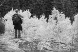 My Son Paul Hiking In Colorado