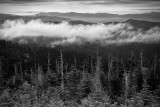 View Of Smoky Mountain National Park From Clingsman Dome, Tennessee