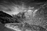 View From The Road, Zion National Park, Utah
