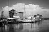 Buxton-Scott Boat Yard On The Sound, North Carolina