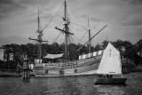 The Queen Elizabeth II, Manteo Harbor, North Carolina
