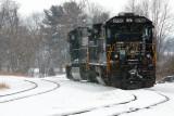 Norfolk & Southern Railway Crew Change Stop