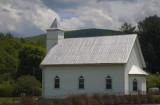 A Small Rural Church In Paint Bank, Virginia