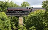 Crossing The Roanoke River At Elliston