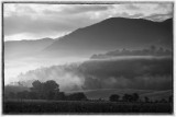 Early Morning Haze In Cades Cove, Smoky Mountain National Park, Tennessee