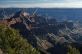 An evening View Of The Grand Canyon From The North Rim