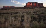 Great Light At Monument Valley