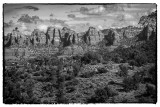 One View In Sedona- An Approaching Rainstorm