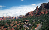 A Birdseye View Of A Sedona Residential Neighborhood: Surrounded By Beauty