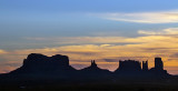 A Monument Valley Sunset
