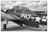 US Navy TBM Avenger -Vintage WWII Aircraft