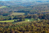 The Valley Floor: A Telephoto View From The Blue Ridge Parkway