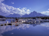 Evening At Coulter Bay-Grand Tetons