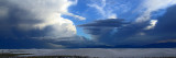 Space ship clouds at White Sands