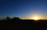 Sunset Skyline Drive