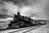 Chama to Antonito narrow gauge train.