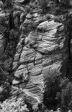 Sandstone formation Walnut Canyon National Monument