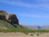 Santa Elena Canyon from Maverick Road