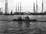 1895 - Rowing on the Harlem River